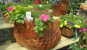Kal-Bro Farms large fish planter