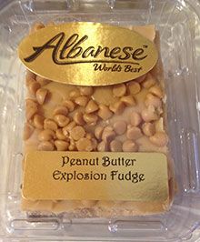 Peanut Butter Fudge from Albanese