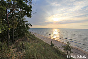 Lake Michigan - Indiana Dunes
