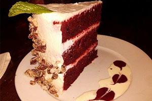 Pikk's Tavern Valparaiso Red Velvet Cake