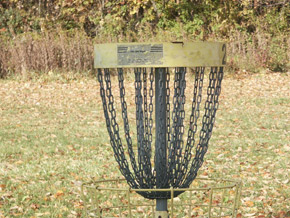 Disc Golf at Lemon Lake in Crown Point