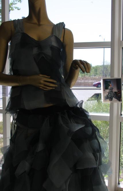 TRASHION 2012 Lauren Lein Wind Gown