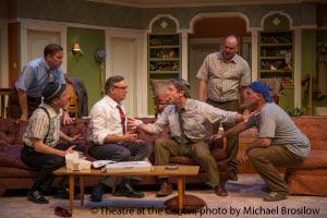 The Odd Couple cast - Theatre at the Center