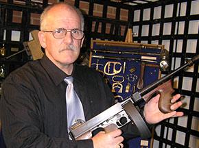 Dillinger Tommy Gun - Porter County Sheriff's Dept.