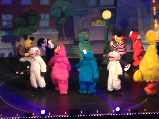 Cast of Sesame Street Live