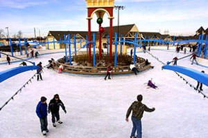 Deep River Waterpark Ice Skating