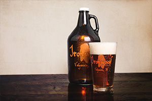 Ironwood Brewing Growler - Valparaiso, Ind.