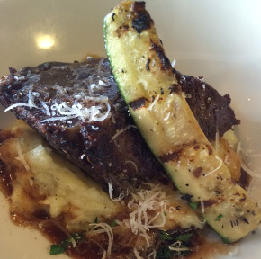 Braised Short Rib with Zucchini from Sage