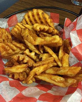 Waffle Fries - Veterans' Cafe Merrillville