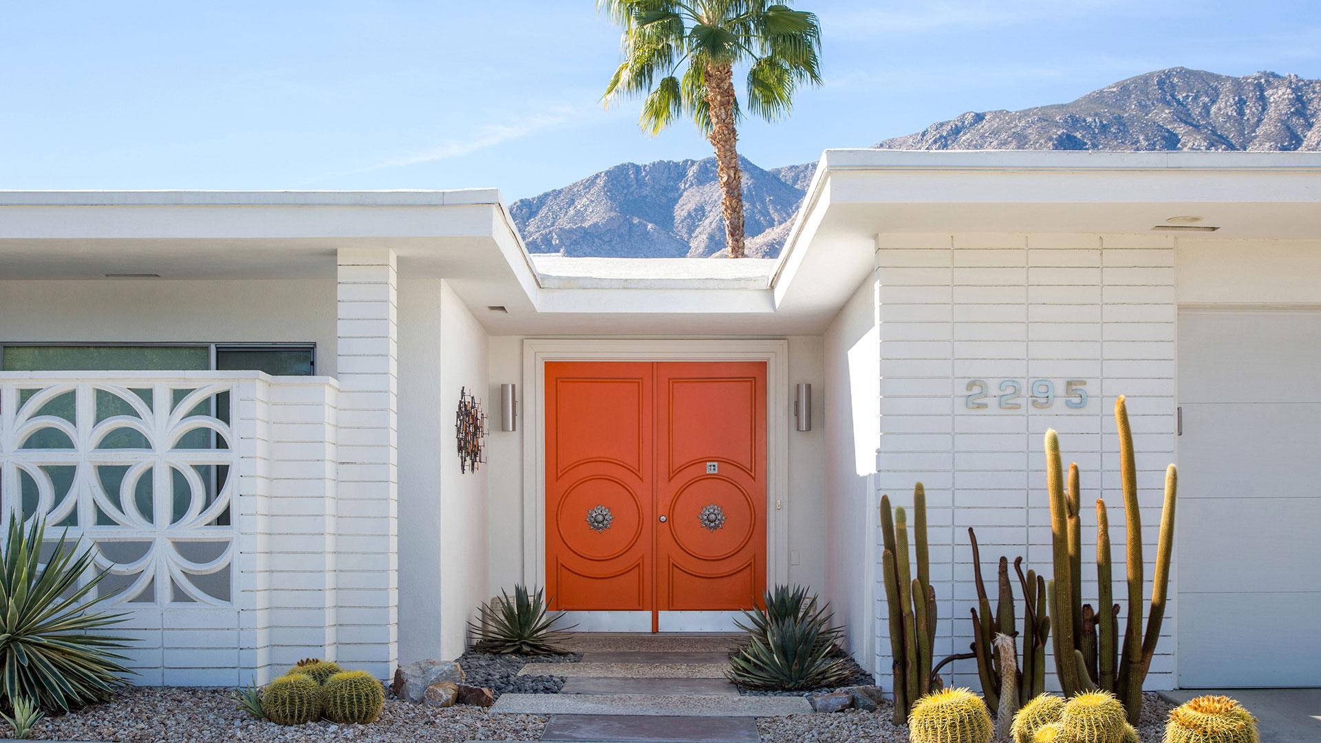 orange door palm springs