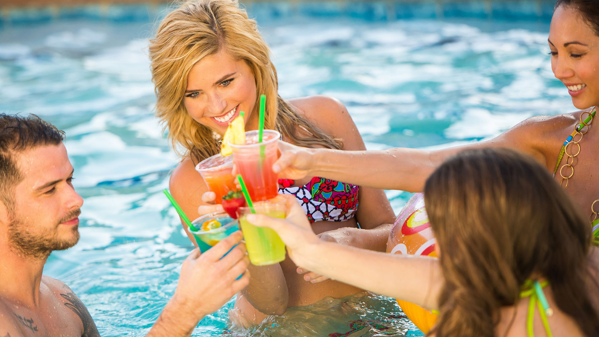 make it a spring break pool party in greater palm springs