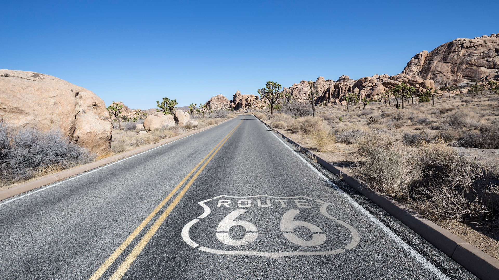 route 66 from las vegas to palm springs