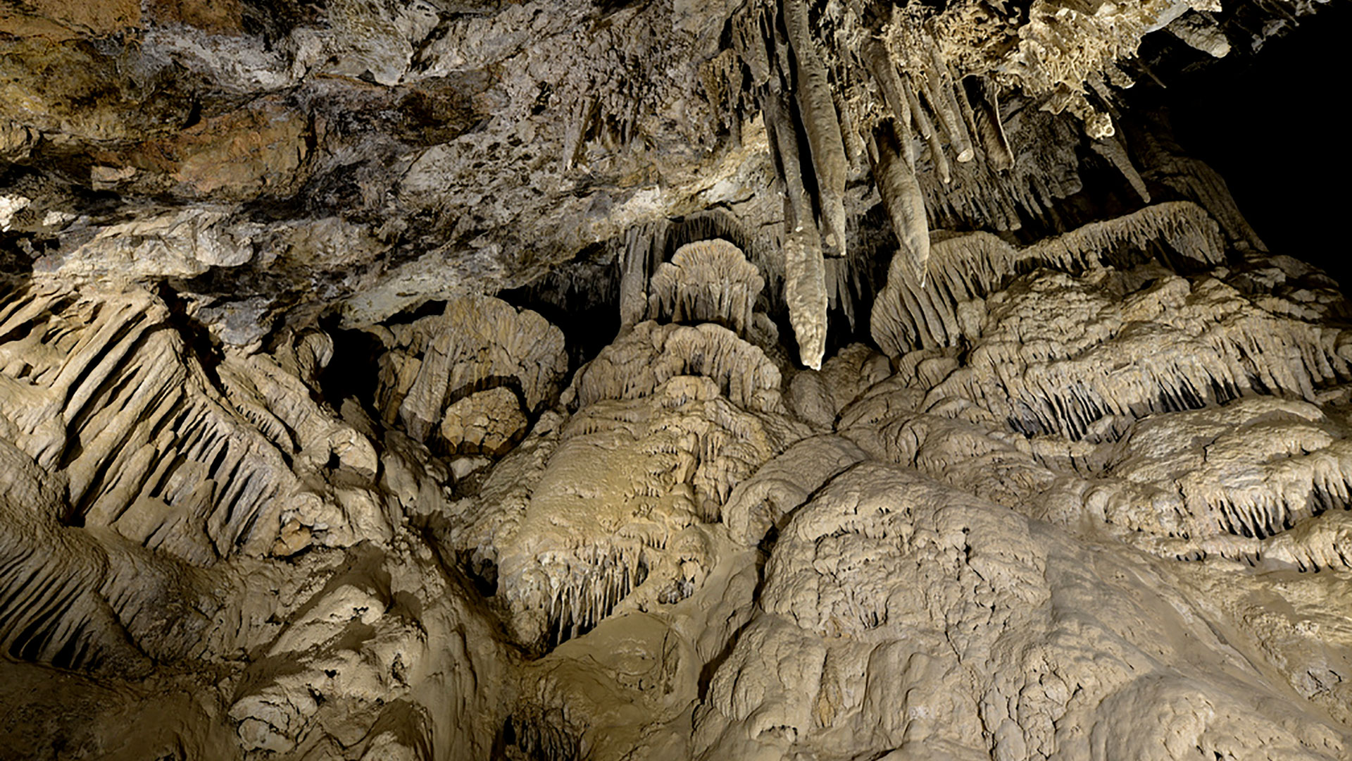 mitchell caverns interior