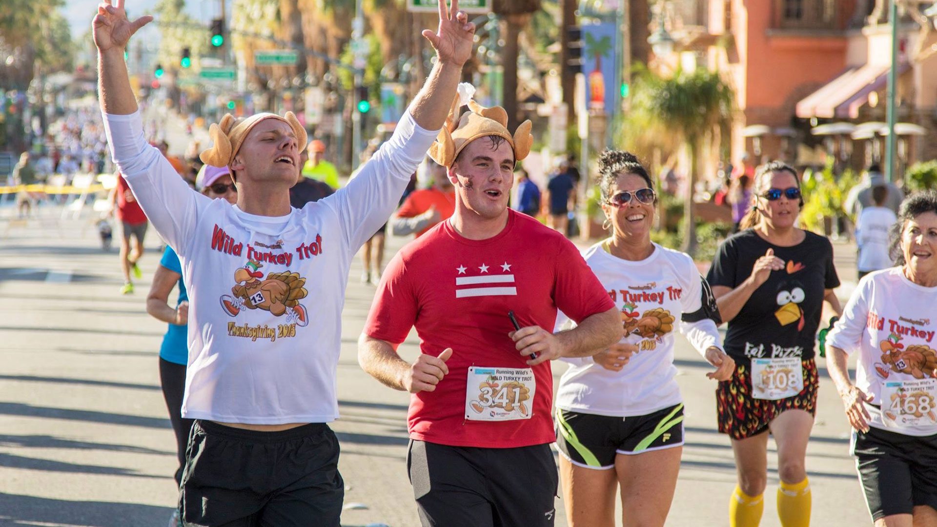 wild turkey trot palm springs