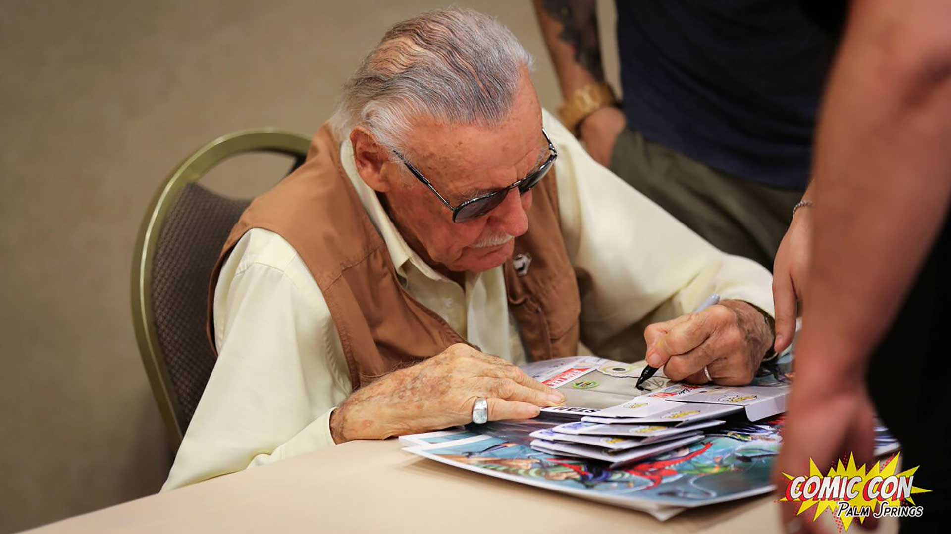 Stan Lee at Comic Con Palm Springs