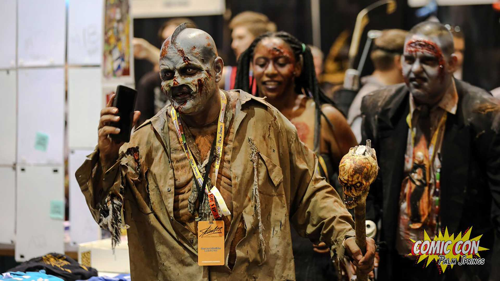 comic con palm springs zombies