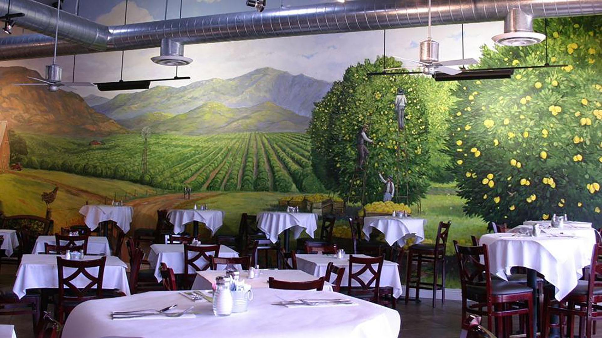 the lemon leaf dining room