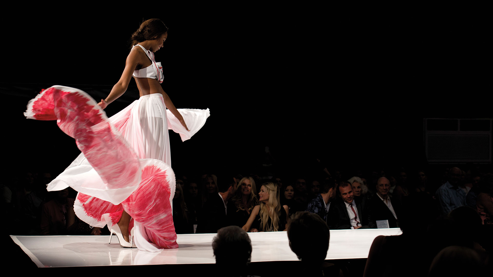 designs on the runway during fashion week el paseo