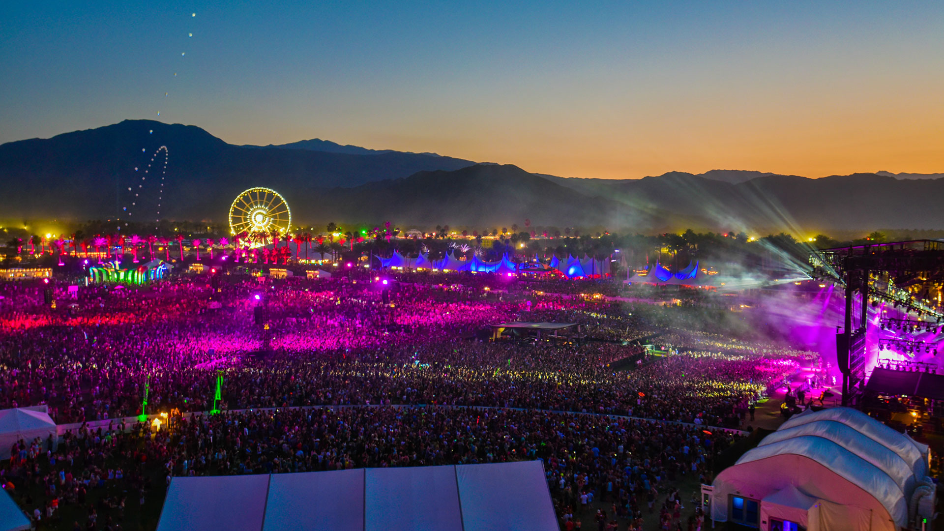 experience luxury at coachella music and arts festival