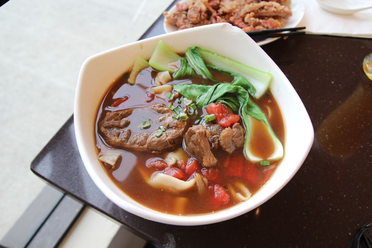 beef noodle at Tri-ty