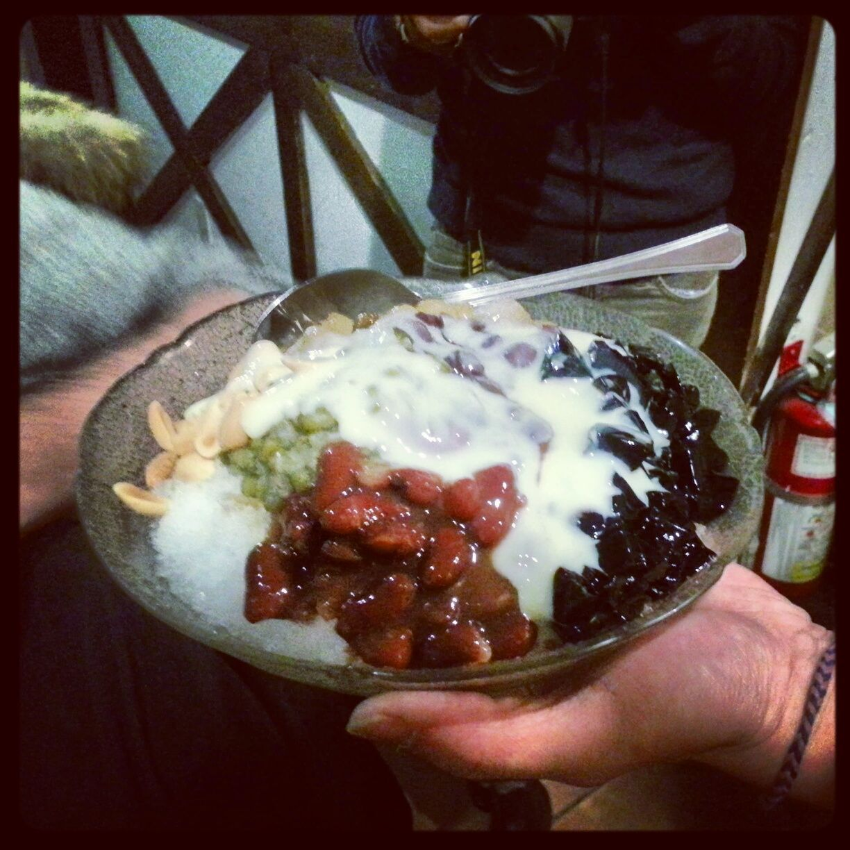 Shaved ice from Leisure Tea