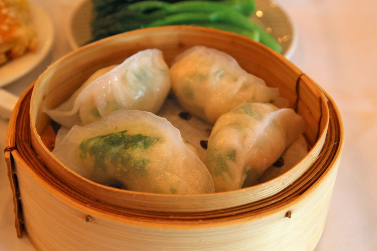 shrimp and scallop dumplings