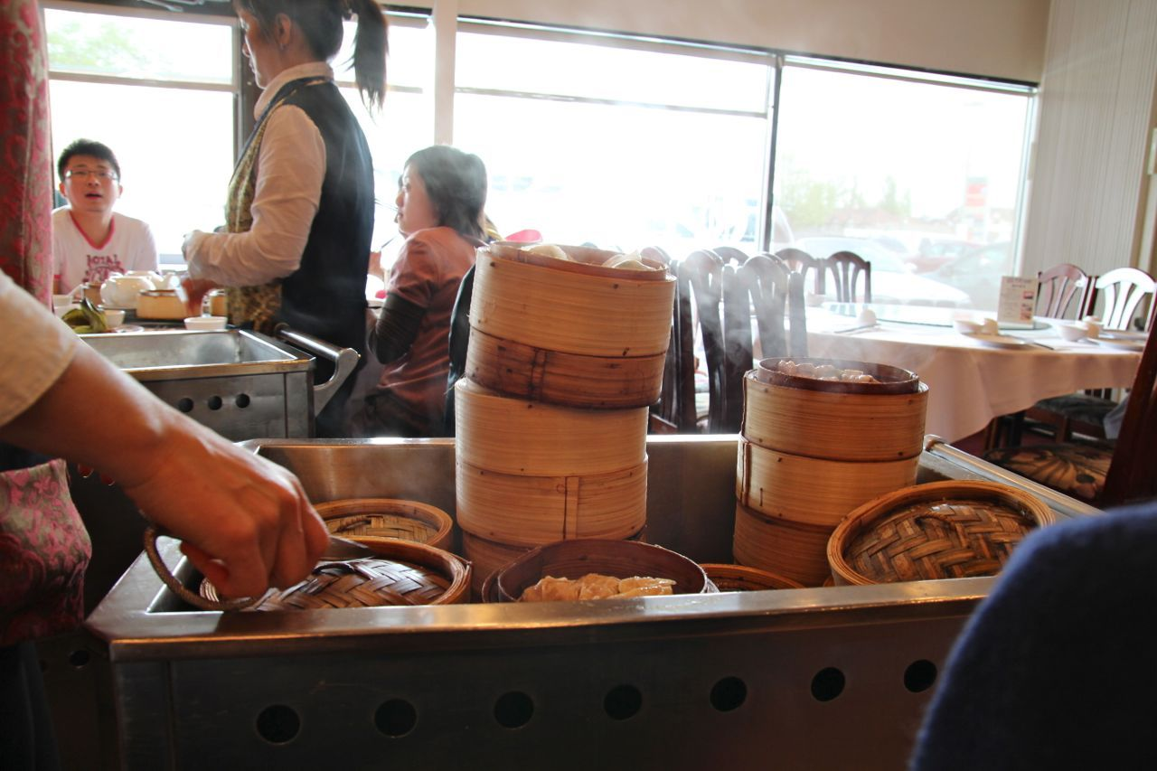 dim sum steam tray