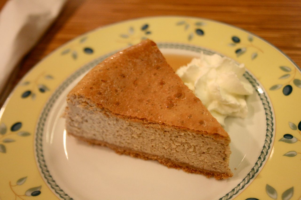 earl grey cheesecake