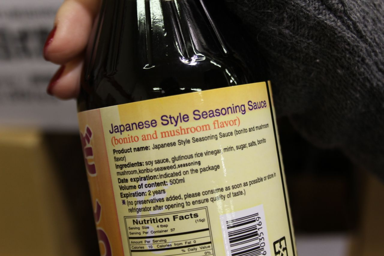 Japanese-style seasoning sauce