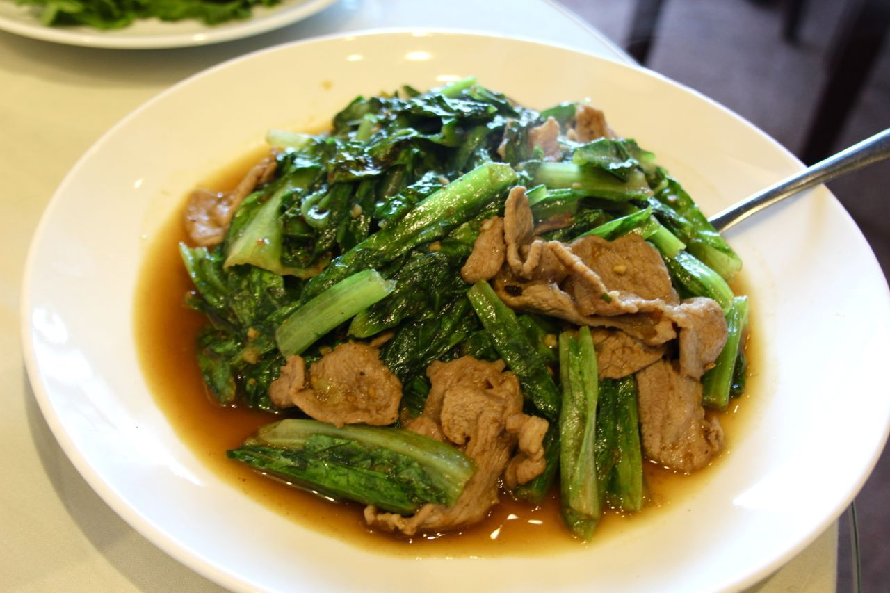lamb with a choy