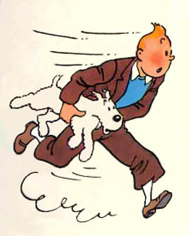 Tin Tin and Snowy