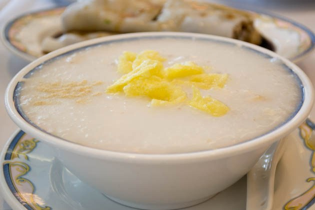 Fisherman's Terrace congee - Chai fish, peanuts and spareribs - web