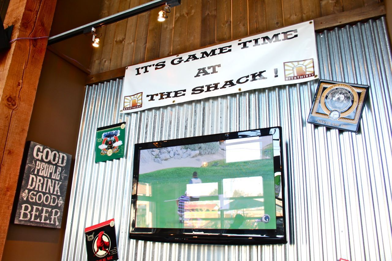 interior of Hog Shack