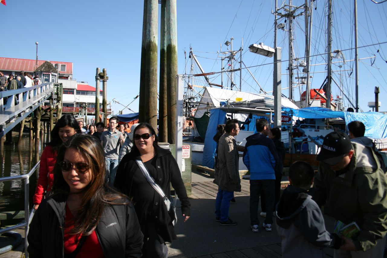 Steveston fish docks