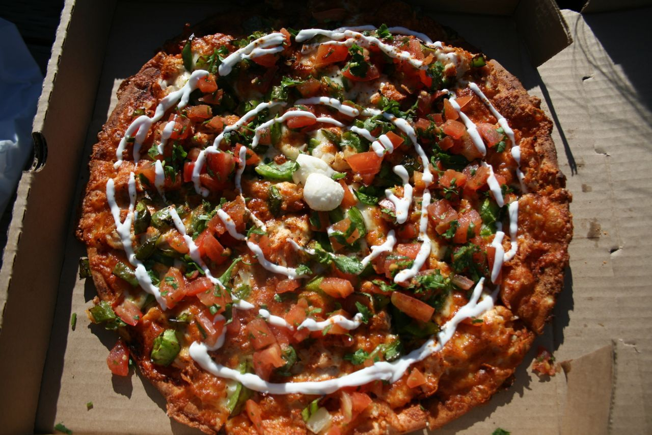 The Mexican Pizza