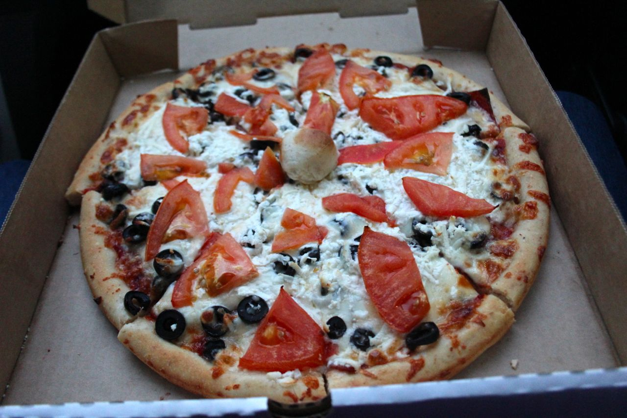 Athenian Delight from Tino's Pizza in Richmond
