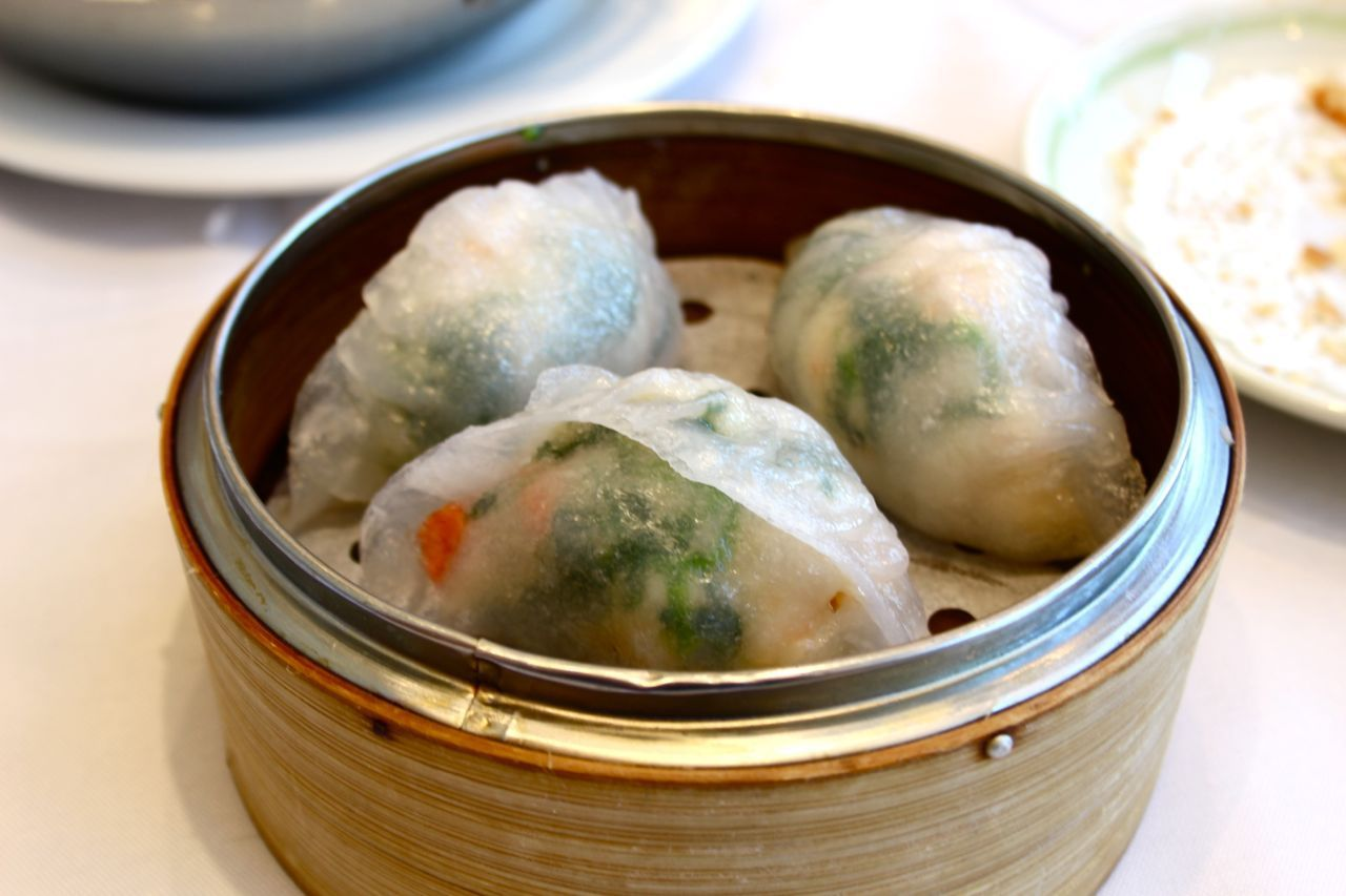 Shrimp and fish dumplings; Photo Credit: Lindsay Anderson