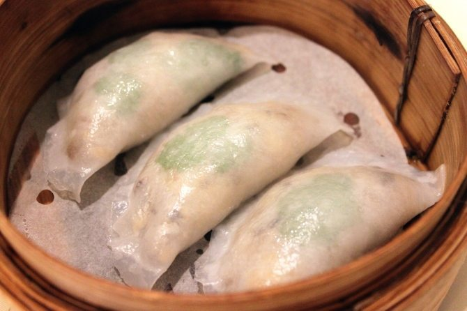 Golden Paramount - steamed crab dumplings