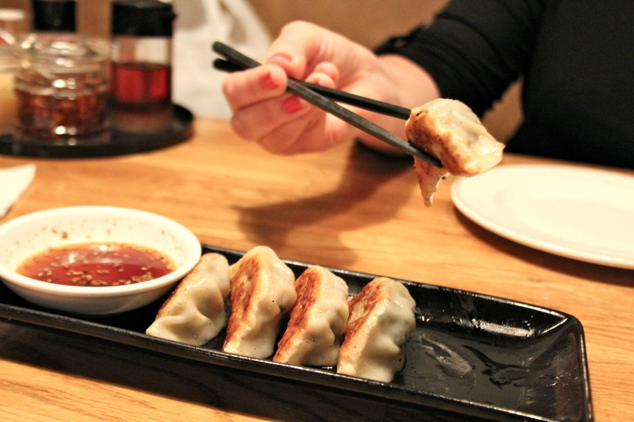 gyoza at Nan Chuu