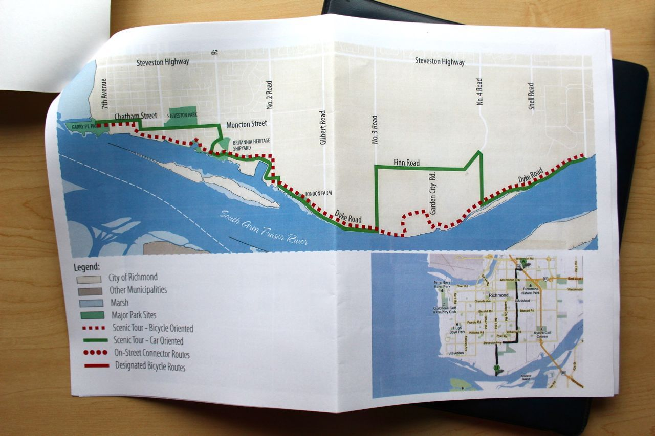 Accent Inns bike map