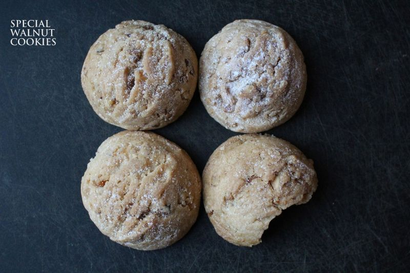 special walnut cookies