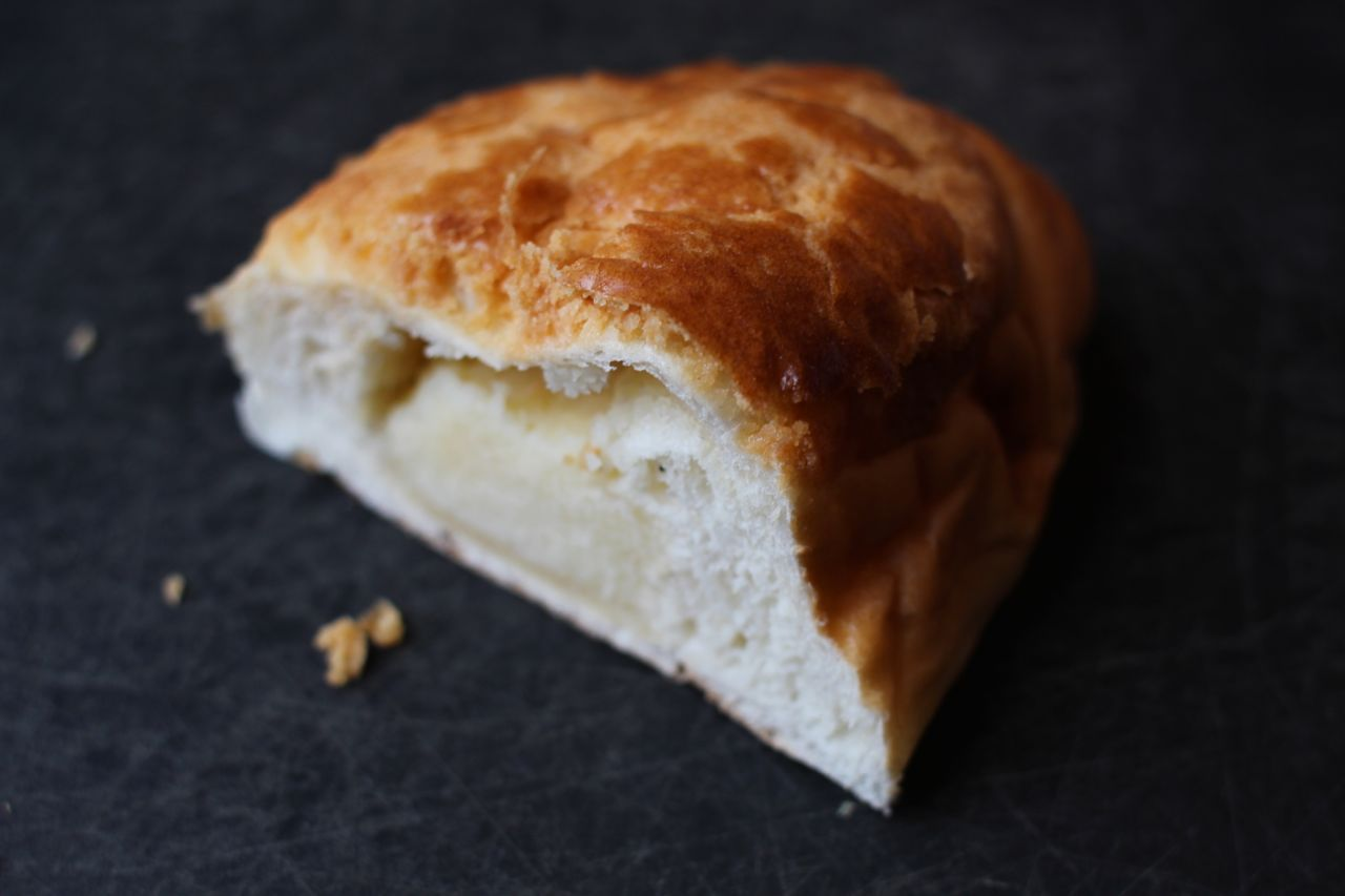 pineapple coconut bun
