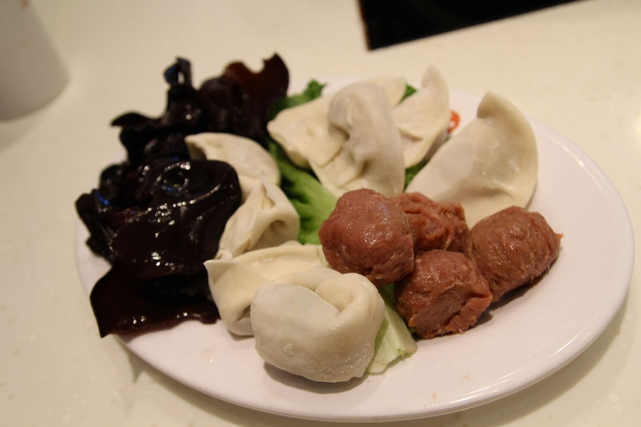 Cattle Hot Pot beef balls and dumplings