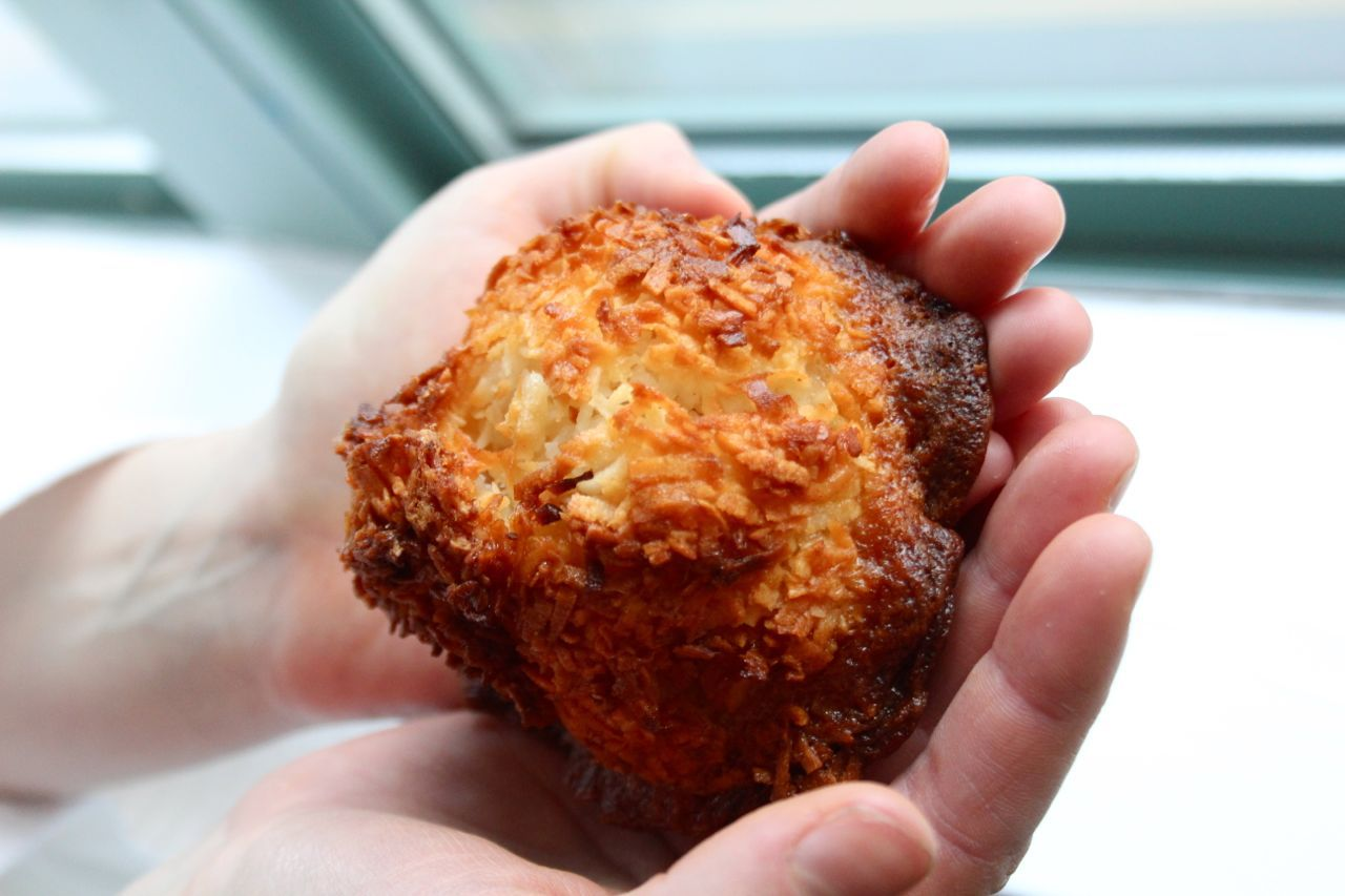 coconut macaroon from Sweet Spot Richmond