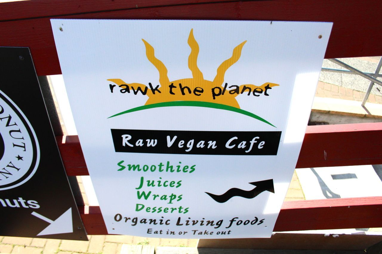 Rawk the Planet sign