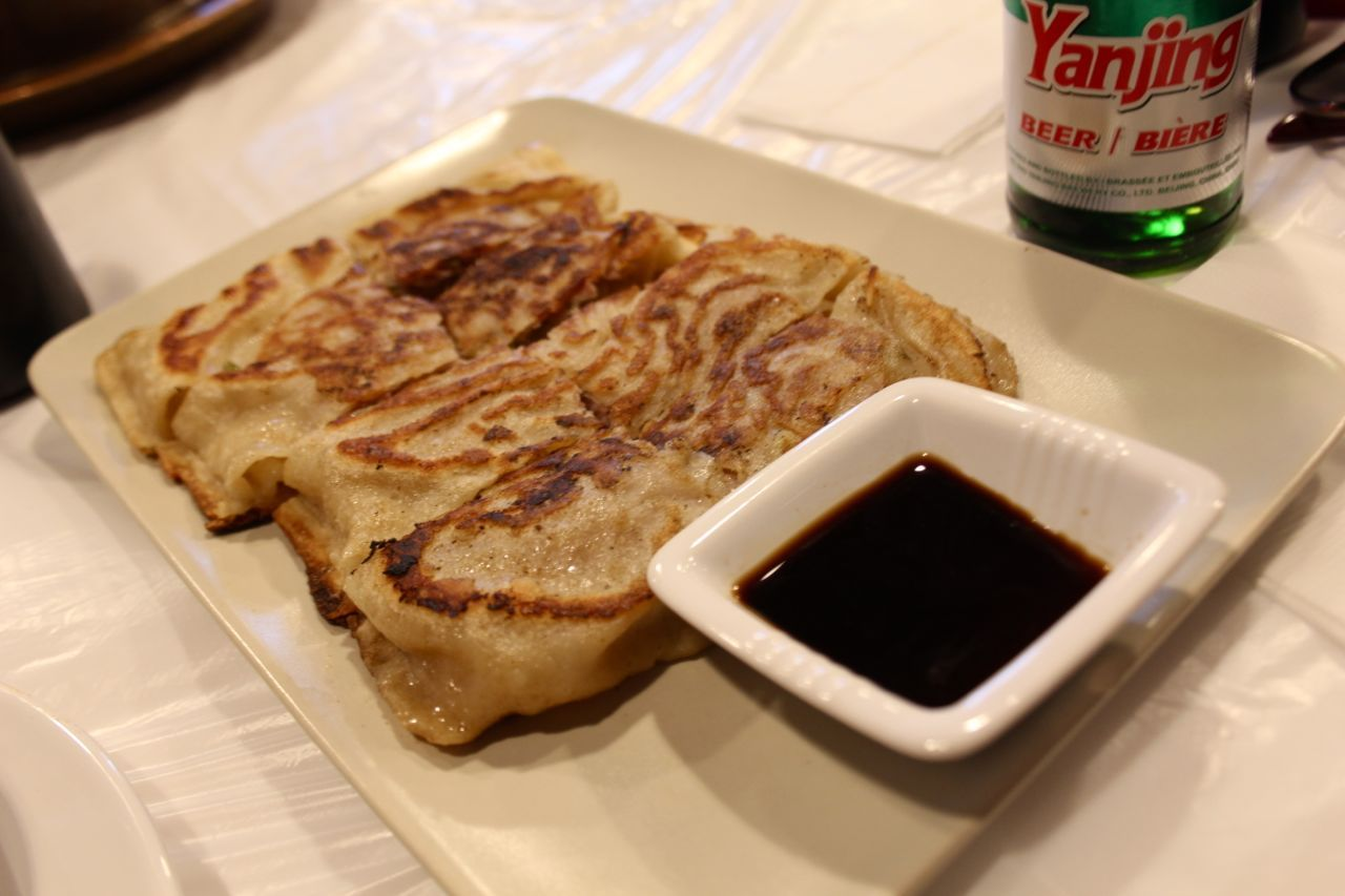pancake with pork