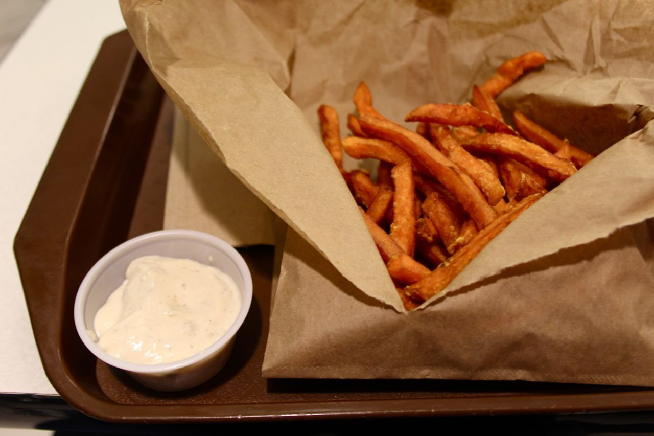 Vera's sweet potato fries