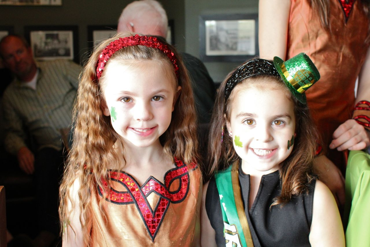 Irish dancers at O'Hare's Pub
