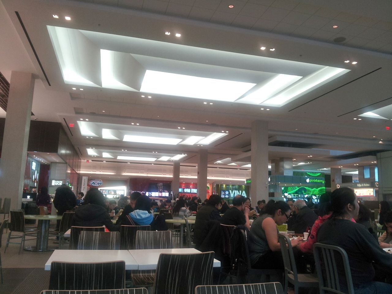 Dining Terrace at Richmond Centre