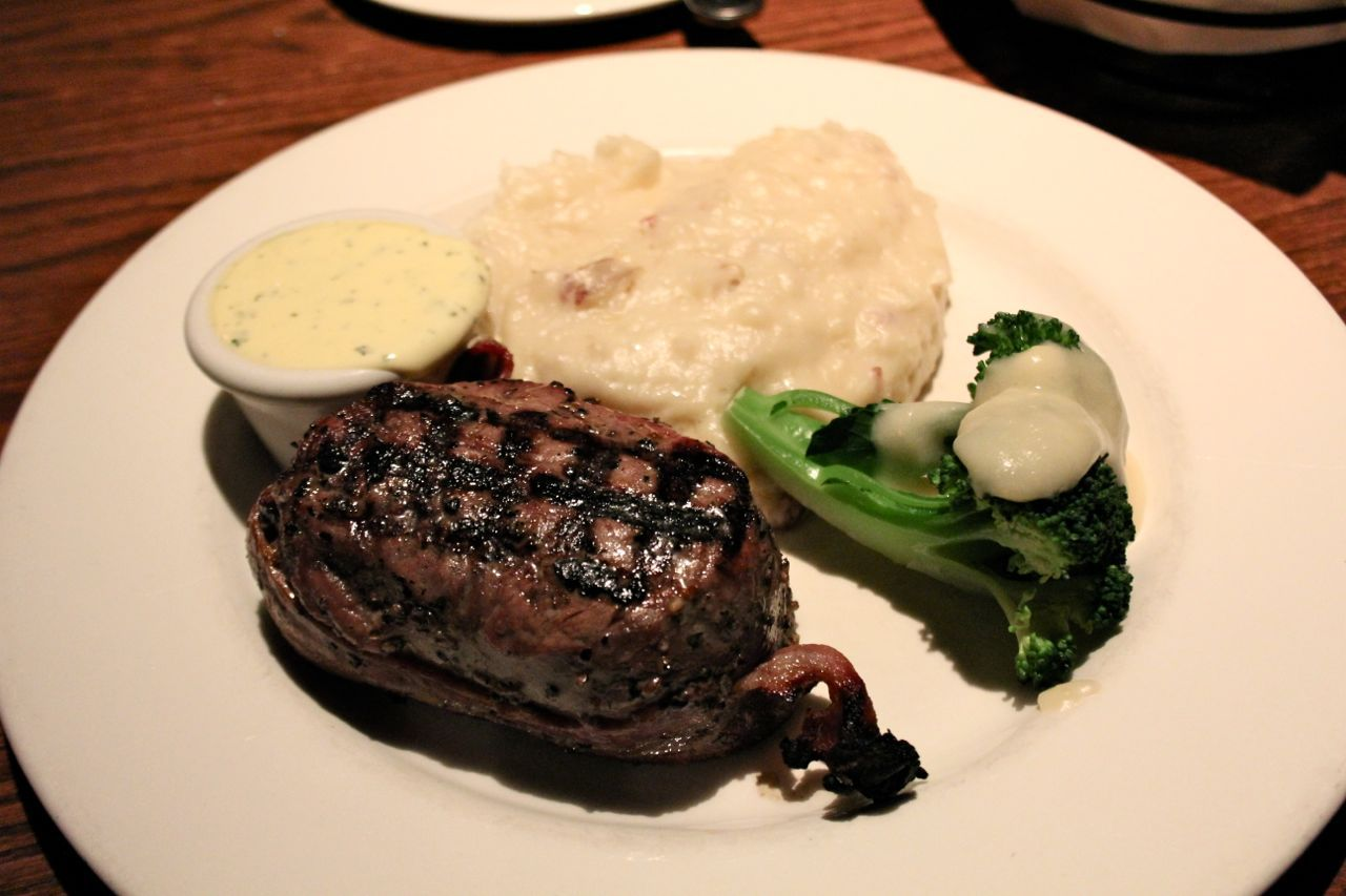 Filet Mignon at The Keg